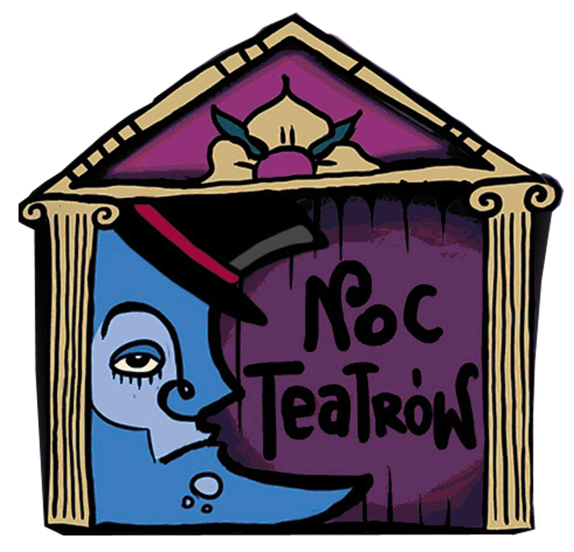logo domek nocy teatrów